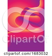 Abstract Background With Colourful Swirl