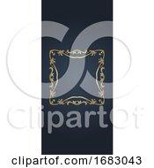 Banner With Elegant Frame Design