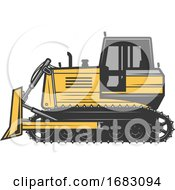 Poster, Art Print Of Coal Mining Design