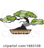 Japanese Bonsai Design by Vector Tradition SM