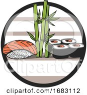 Japanese Sushi Design by Vector Tradition SM
