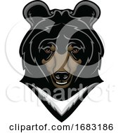 Himalayan Bear Mascot by Vector Tradition SM