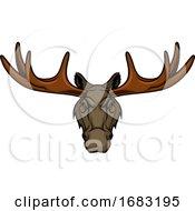 Tough Elk Mascot