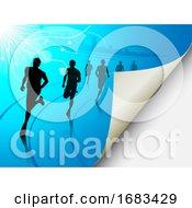 Poster, Art Print Of Runners
