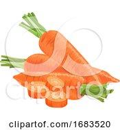Fresh Carrots by Morphart Creations
