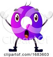 Purple Letter Q