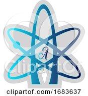 Blue Atheist Symbol