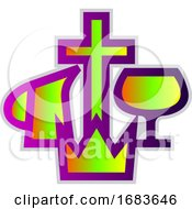 Colorful Christian Missionary Alliance Symbol