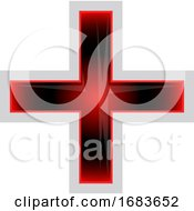 Red And Black Greek Cross