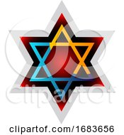Judaism Symbol Colorful