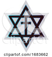 Symbol Of A Messianic Jewish Religion