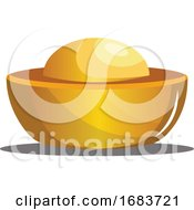 Traditional Chinese Gold Ingot
