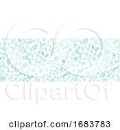 Pattern Banner Eco Symbol Element by Domenico Condello