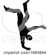 10/11/2019 - Street Dance Dancer Silhouette