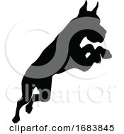 Dog Silhouette Pet Animal