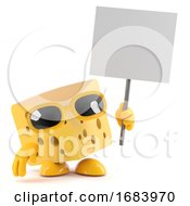 3d Cheese Protest