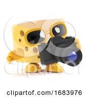 3d Cheese Photographer