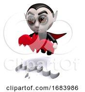 Poster, Art Print Of 3d Dracula Bat Puzzle