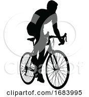 10/14/2019 - Bike Cyclist Riding Bicycle Silhouette