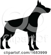 10/14/2019 - Dog Silhouette Pet Animal