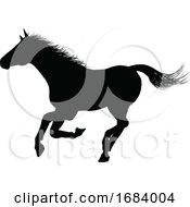 Horse Silhouette Animal