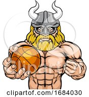 10/14/2019 - Viking Basketball Sports Mascot