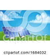 Poster, Art Print Of Solar Power Energy Renewable Farm