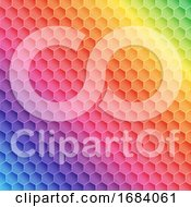 Abstract Rainbow Themed Pattern Design