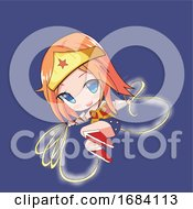 Manga Wonder Girl by mayawizard101