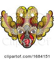 Traditional Sri Lanka Devil Mask