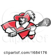 Musketeer Lacrosse Player by patrimonio