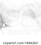 Halftone Dots Abstract Background