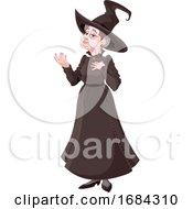 Polite Witch Gesturing