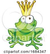 Smiling Frog Prince