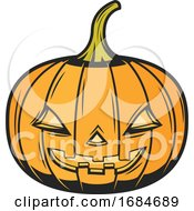 Halloween Jackolantern by Vector Tradition SM