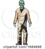 Poster, Art Print Of Zombie