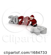 Santa Bringing In The New Year