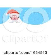 Santa Beard Background