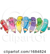 Colored Pencil Characters