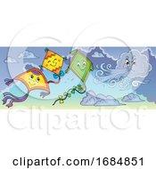 Poster, Art Print Of Kites