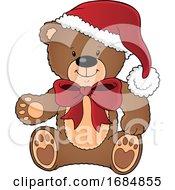 Christmas Teddy Bear by visekart