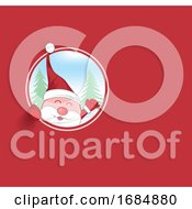 Santa Claus Mascot Cartoon