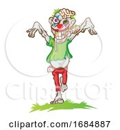Poster, Art Print Of Clown Zombie Laughing