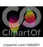 Colourful Rainbow Circle Design