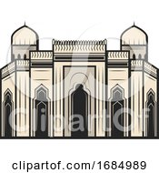 Egyptian Architecture by Vector Tradition SM