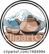 Japanese Tea Ceremony Design by Vector Tradition SM