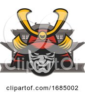 Japanese Samurai Design by Vector Tradition SM