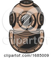 Nautical Diving Helmet by Vector Tradition SM
