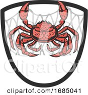 Crab And Net Shield