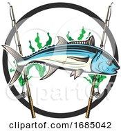 Tuna Fish And Poles